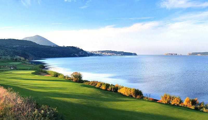 The Bay Course at Costa Navarino auf Peloponnes / Golfreisen Griechenland