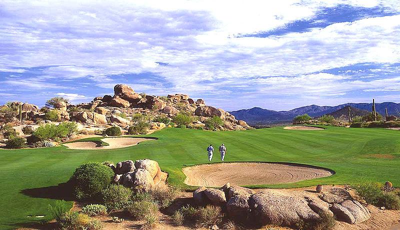 Troon North Golf Club bei Phoenix / Golfreisen Arizona