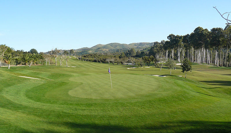 Santana Golf Club, Costa del Sol, Spanien