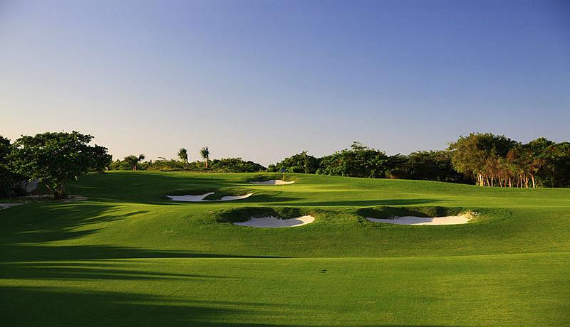The Hard Rock Golf Club at Cana Bay in der Dominikanischen Republik