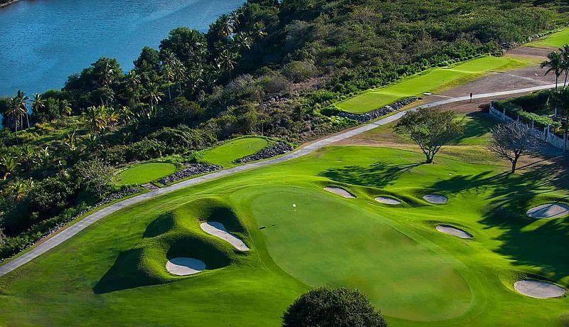 Dye Fore Golf Course in der Dominikanischen Republik