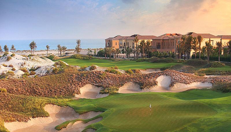 Saadiyat Beach Golf Club bei Abu Dhabi, VAE / Golfreisen Abu Dhabi