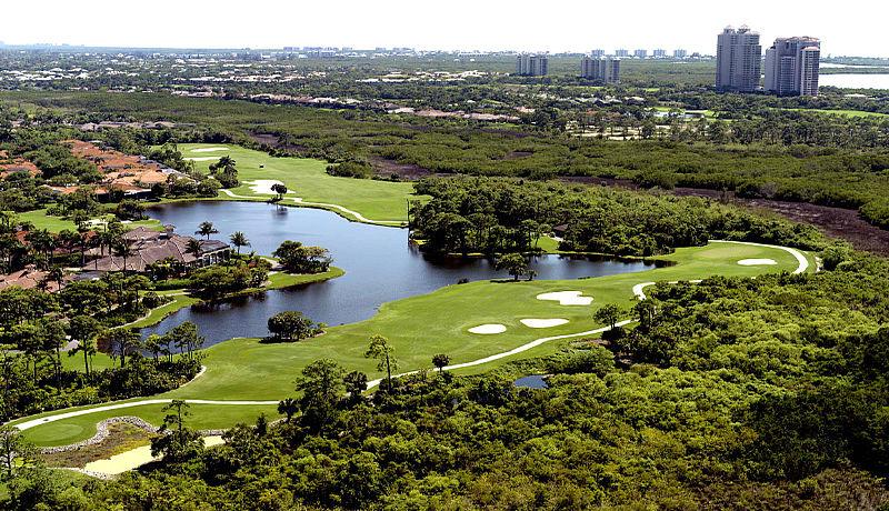 Bonita Bay Golf Club in Bonita Springs / Golfreisen Florida