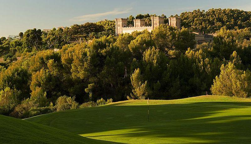 Real Golf de Bendinat auf Mallorca, Balearen, Spanien