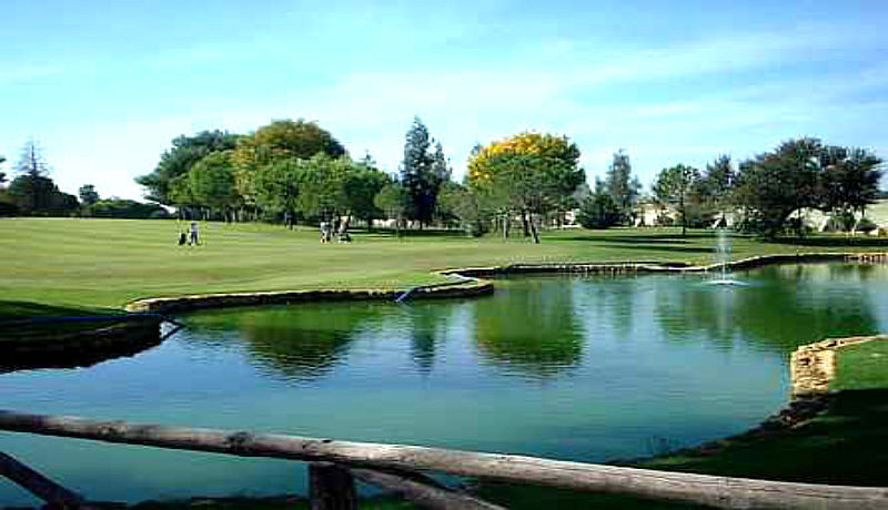 Zaudin Golf Sevilla, Andalusien, Spanien