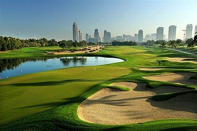 Emirates Golf Club bei Dubai, VAE / Golfreisen Dubai