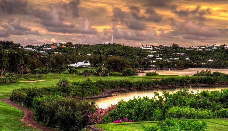 Riddell's Bay Golf Country Club auf den Bermudas