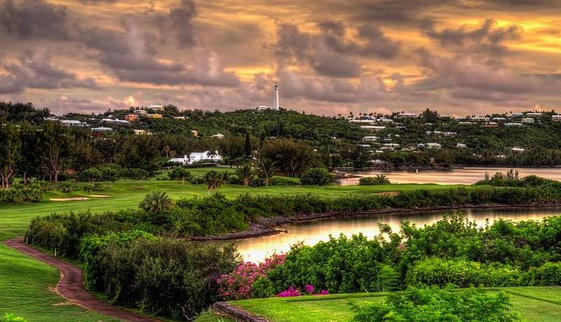 Riddell's Bay Golf Country Club auf den Bermudas