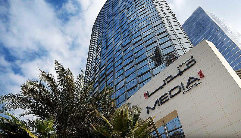 Hotel Media One in Dubai