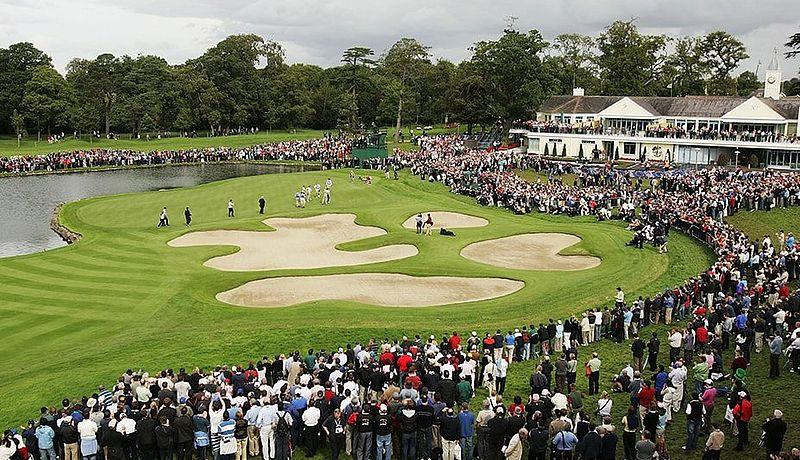 The Ryder Golf Course at K Club / Golfreisen Irland