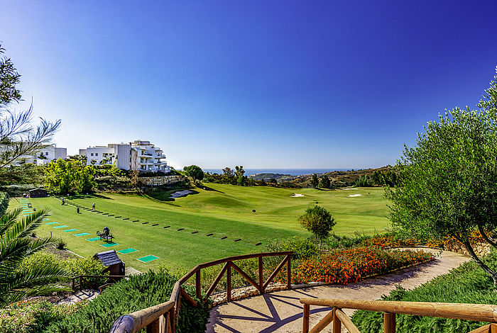 Driving Range beim La Cala Resort an der Costa del Sol / Golfreisen Spanien