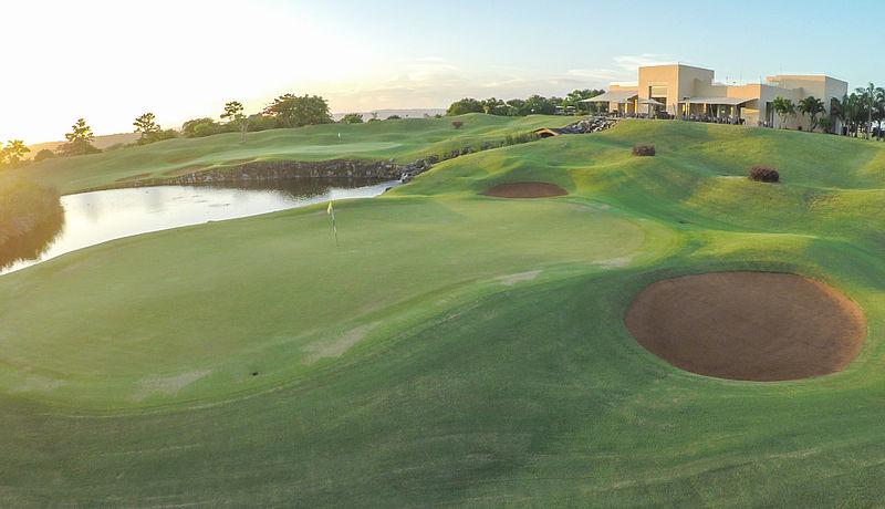 Baobab Golf Course at Vipingo Ridge Golf Club bei Mombasa, Kenia
