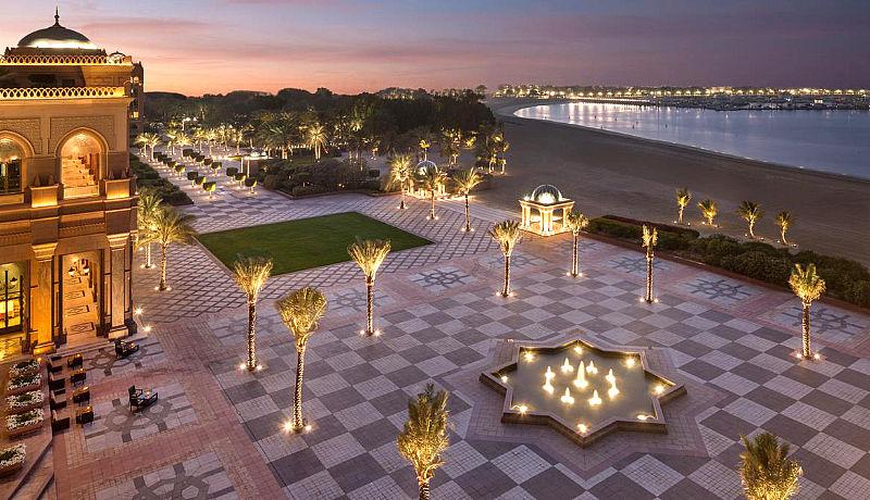 Emirates Palace Hotel / Golfreisen Abu Dhabi