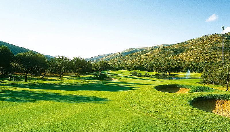 Sun City Golf Gary Player Course / Golfreisen Südafrika