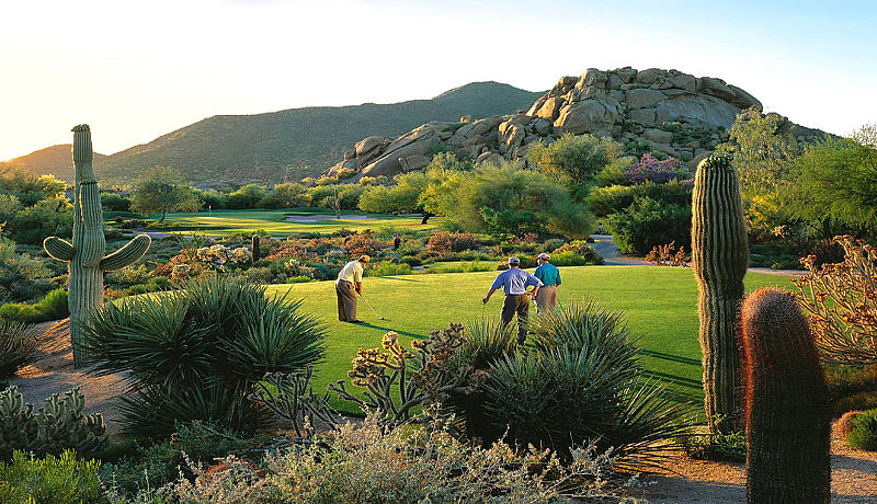 The Boulders Golf Club bei Phoenix / Golfreisen Arizona