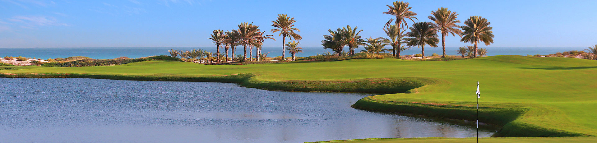 Saadiyat Beach Golf Club bei Abu Dhabi