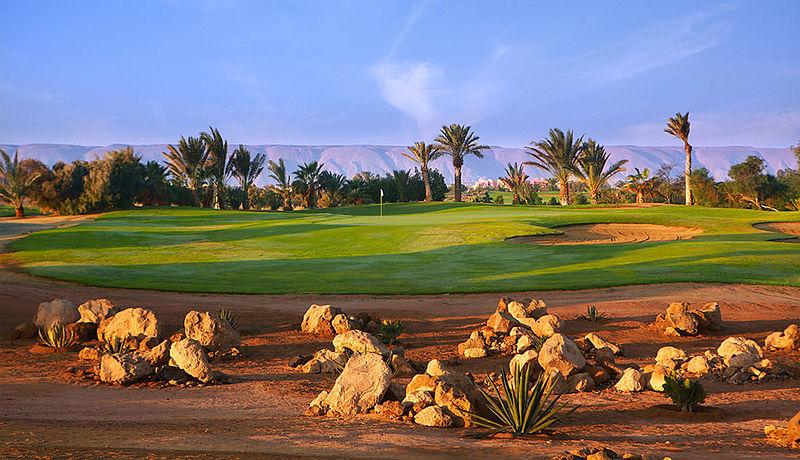 El Gouna Golf Club am Roten Meer in Ägypten
