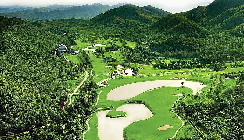 Alpine Golf Chiang Mai / Golfreisen Thailand