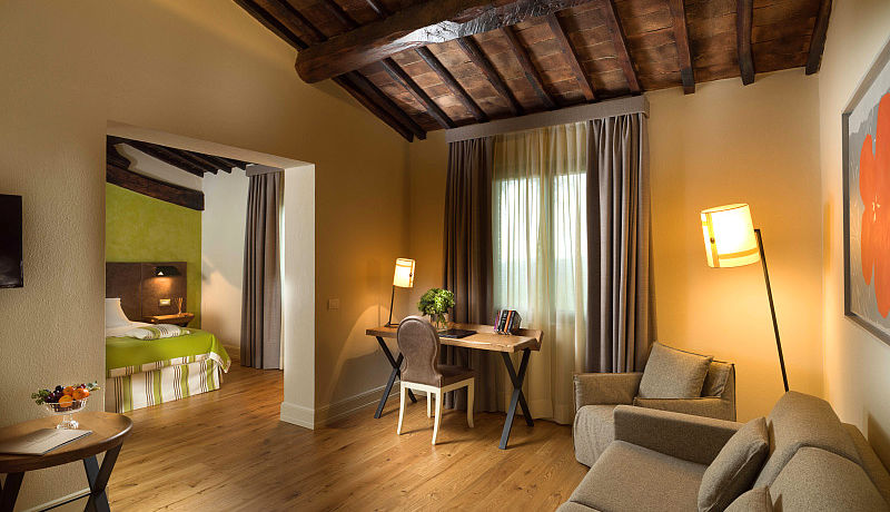 Junior Suite im Hotel La Tabaccaia, Toskana / Golfreisen Italien