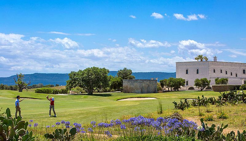 Borgo Egnazia Resort / Golfreisen Apulien