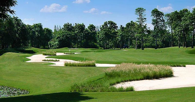 Lam Luk Ka Championship East Course / Golfreisen Thailand