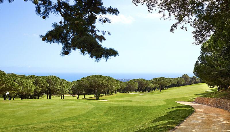Club Golf d Aro Mas Nou, Costa Brava, Spanien