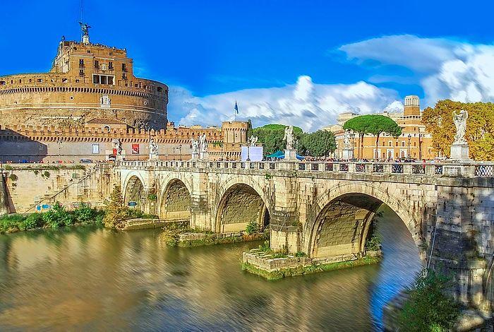 City-Golfreisen nach Rom