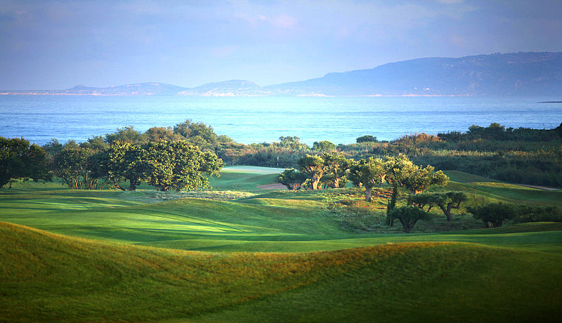 The Bay Course at Costa Navarino auf Peloponnes / Golfreisen Griechenland