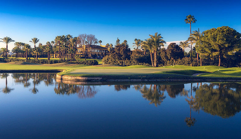 Sevilla Golf Real Club, Andalusien, Spanien