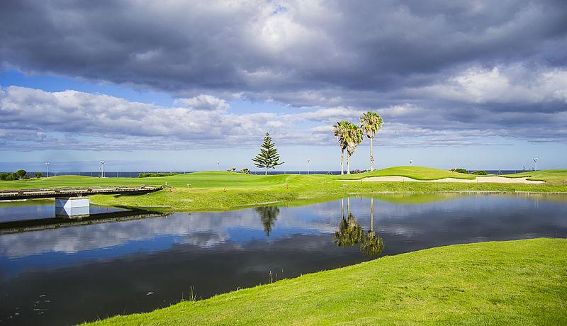 Golf Club Salinas de Antigua auf Fuerteventura, Kanarische Inseln, Spanien