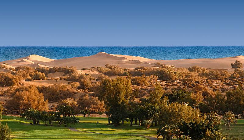 Maspalomas Golf auf Gran Canaria, Kanarische Inseln, Spanien