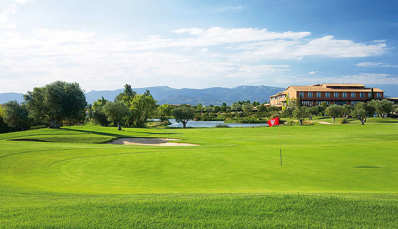Golf Club Peralada, Costa Brava, Spanien