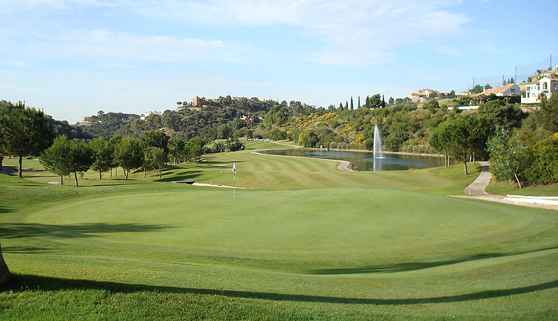 Los Arqueros Golf Club, Costa del Sol, Spanien