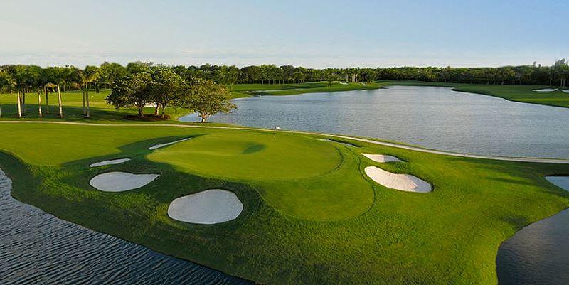 Doral Blue Golf Course bei Miami, Florida, USA