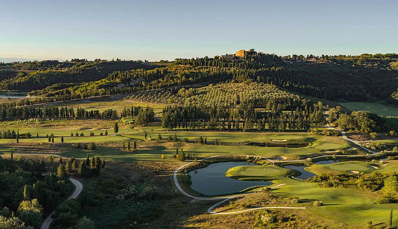Golf Club Castelfalfi / Golfreisen Toskana