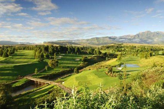 Champagne Sports Golf Club / Golfreisen Südafrika