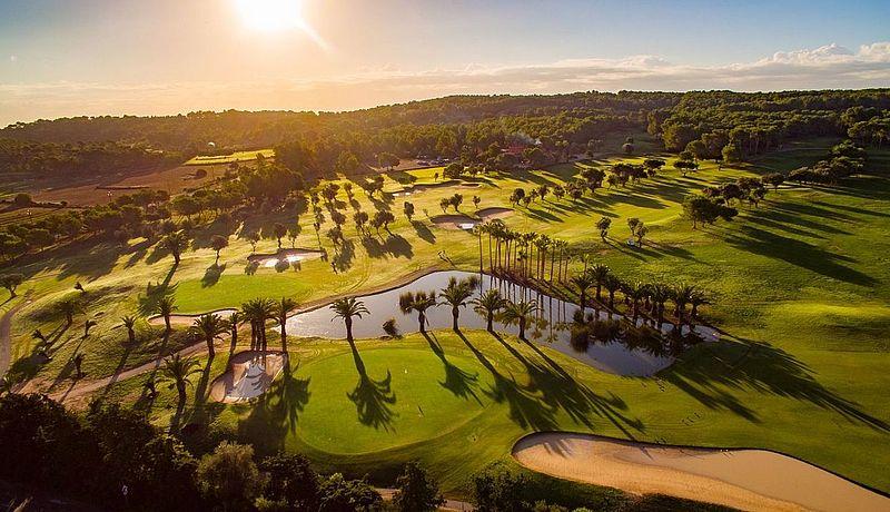 T-Golf and Country Club Poniente auf Mallorca, Balearen, Spanien