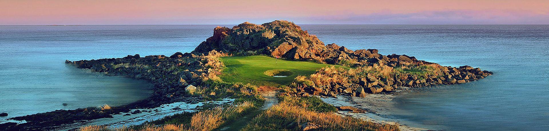 Golfclub Lofoten von SjömansArt