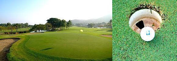Palm Hills Golf Club / Golfreisen Thailand