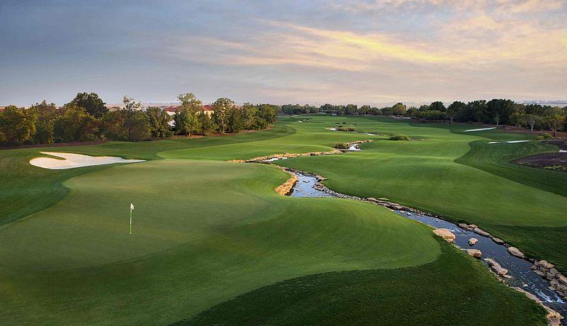 Jumeirah Golf Estates bei Dubai, VAE / Golfreisen Dubai