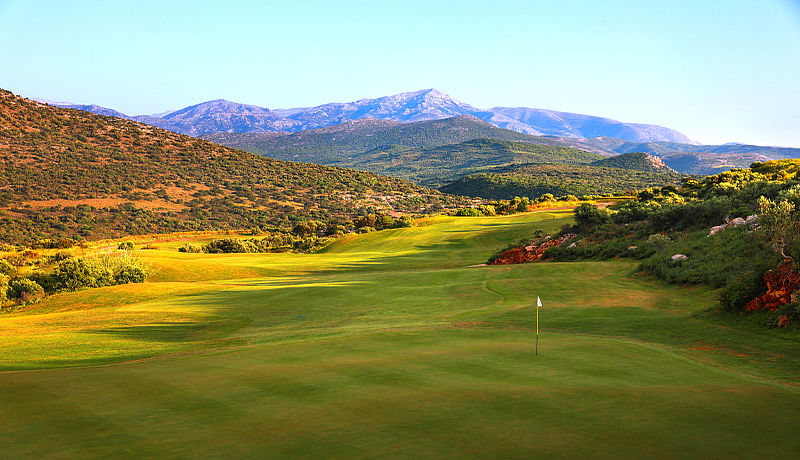 Crete Golf Club bei Chersonissos auf Kreta