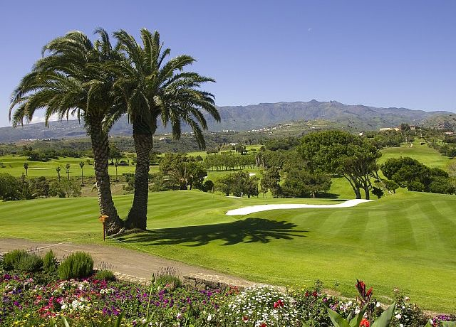 Real Club de Golf de Las Palmas auf Gran Canaria, Kanarische Inseln, Spanien