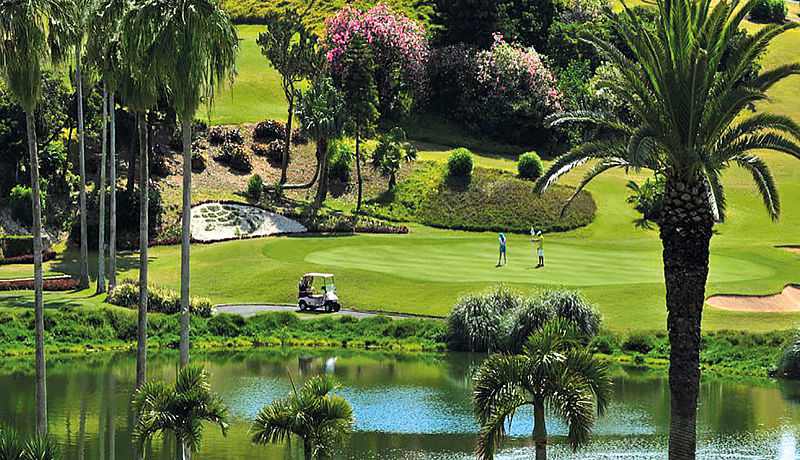 The Turtle Hill Golf Club auf den Bermudas