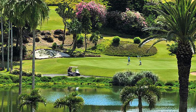 The Turtle Hill Golf Club auf den Bermudas