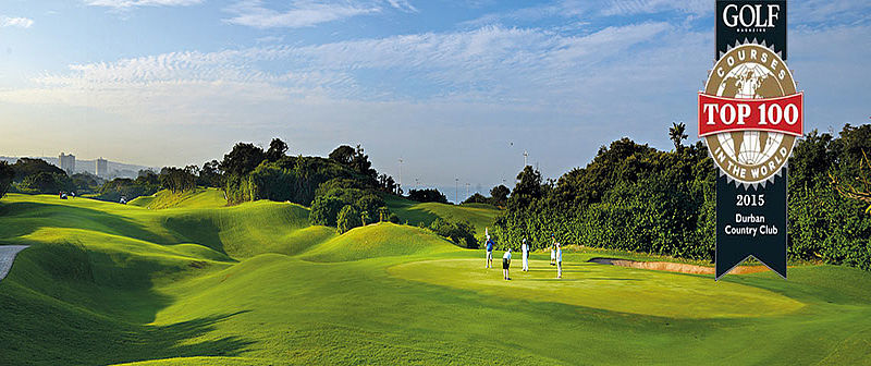 Durban Country Club Beachwood Course / Golfreisen Südafrika