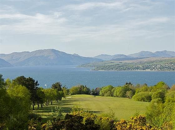 Gourock Golf Club in Schottland