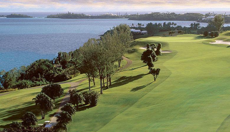 Tucker's Point Golf Club auf den Bermudas