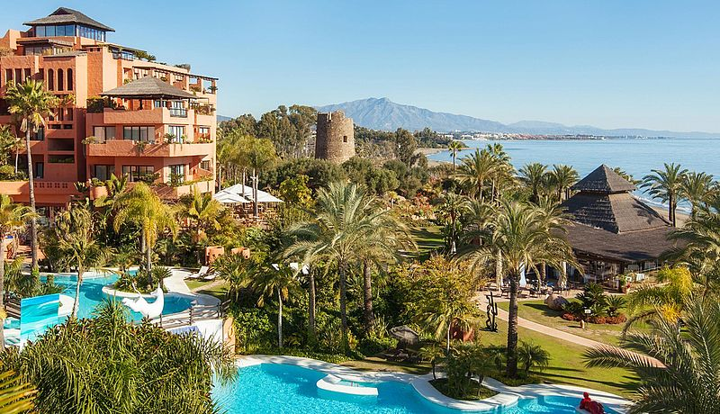 Kempinski Hotel Bahia an der Costa del Sol / Golfreisen Spanien