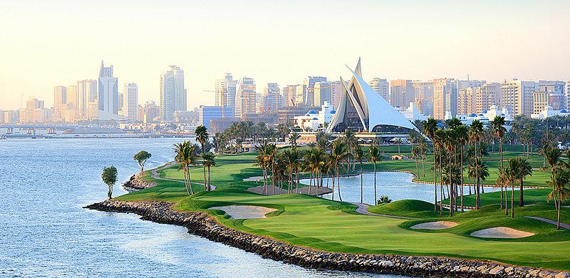 Dubai Creek Golf Club in Dubai, VAE / Golfreisen Dubai