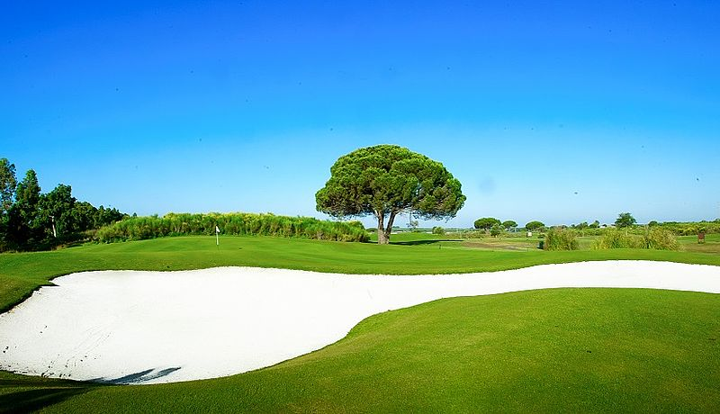 La Estancia Golf, Costa de la Luz, Spanien